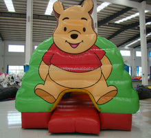 2016 inflatable BEAR jumping castle,Funny party jumpers for sale,cheap bounce houses inflatable bounce