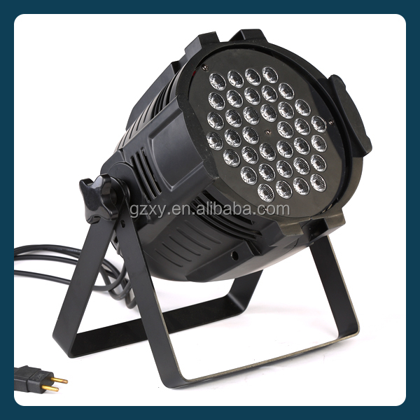 RGBW 4 in 1 36x3w IP20 New arrival most popular rgbw led par light ,outdoor led par light