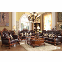 royal classical hotel carving sofa set A89