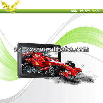 Zhixingsheng allwinner 1.2ghz ram 512mb rom 4gb new! leather case for 7 inch leather case stand for tablet pc Q88