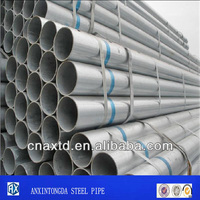 bs heavy grade bs 1387 standard galvanized round steel pipes