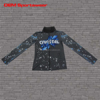 Top quality sublimated winter jackets for young women