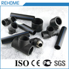 China manufacture plastic water supply butt fusion hdpe pipe fittings