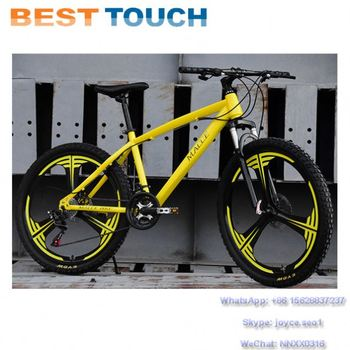 Disc Brake Aluminum Alloy Wheel 26*2.125 Tires 24'' 26'' Inch MTB Mountain Bike
