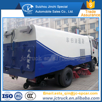 Diesel Engine Type 4*2 garbage sweeping vehicle wholesale