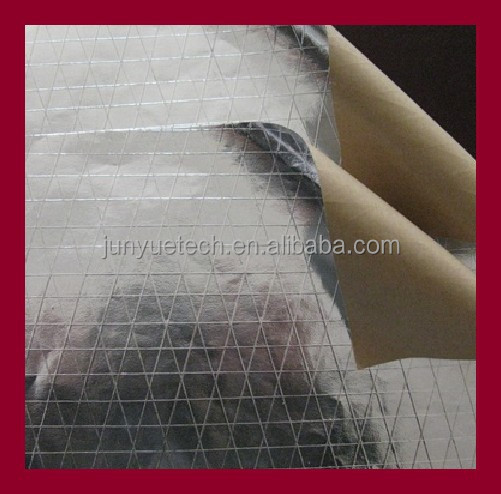 thermal isolation Aluminum Foil scrim Kraft Paper building insulaton materials for roof pipe wall