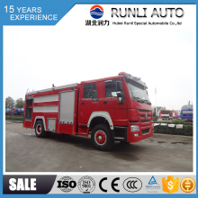 Promotion HOWO water fire truck tankers sale