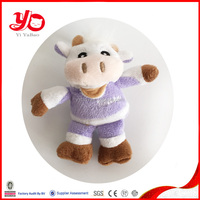 New arrival soft cow toys wholesale,plush purple cow toy stuffed animal