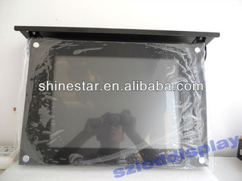 15inch Bus LCD AD media player with roof mounting
