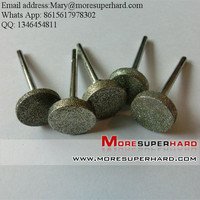Electroplated diamond/CNB Mounted Point and diamond burs, stone engravers