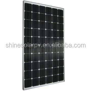 monocrystalline photovoltaic cell solar panels 250 watt with factory price