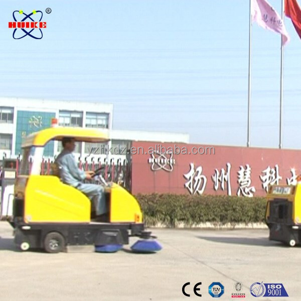 Open air use mechanical road sweeper for sale