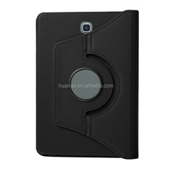 High quality 360 degrees rotate holder pu leather cover case smart cover for samsung tab s2 china wholesale