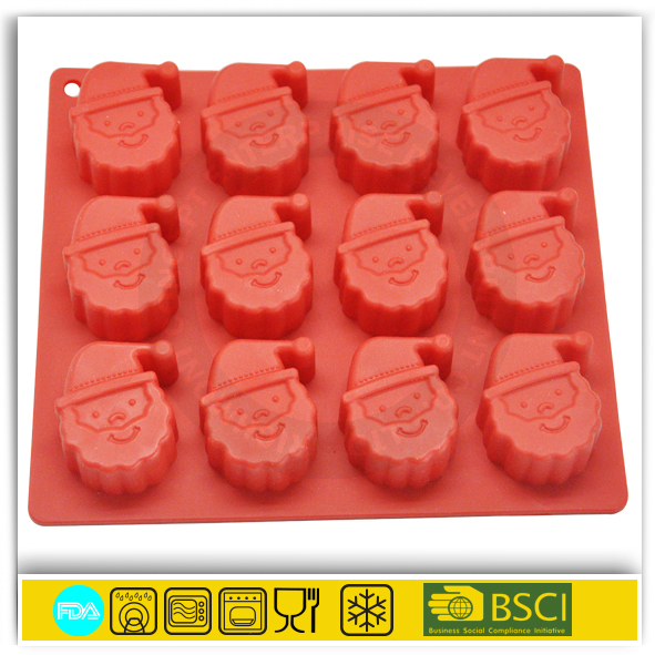 custom silicone rubber anime chocolate mold