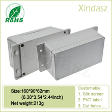 160*90*62mm waterproof enclosure with base and accessories