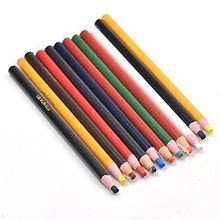 Factory price China Marker Peel off Grease Pencil for Wood Glass Metal Cloth Wax Grease Mixed colors
