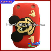 Mickey mouse design for blackberry 9320 silicone case