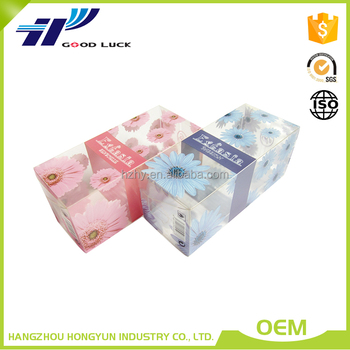 Soft Crease Auto Bottom Clear Plastic Packaging Box,Plastic Box
