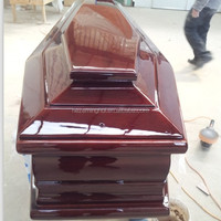 China Funeral Supplies Casket Wholesale Coffins