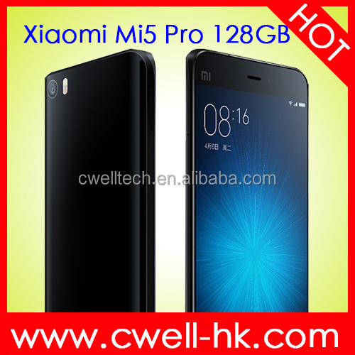 5.15 Inch FHD Touch Screen 128GB ROM Android Smartphone Original Xiaomi Mi5 Pro