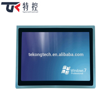 China factory 19 inch embedded all in one computer x86 industrial touch panel fansless pc