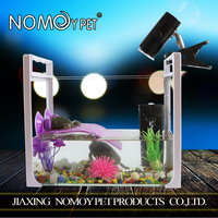 Nomo acrylic fish farming tank stand ,large glass fish tank