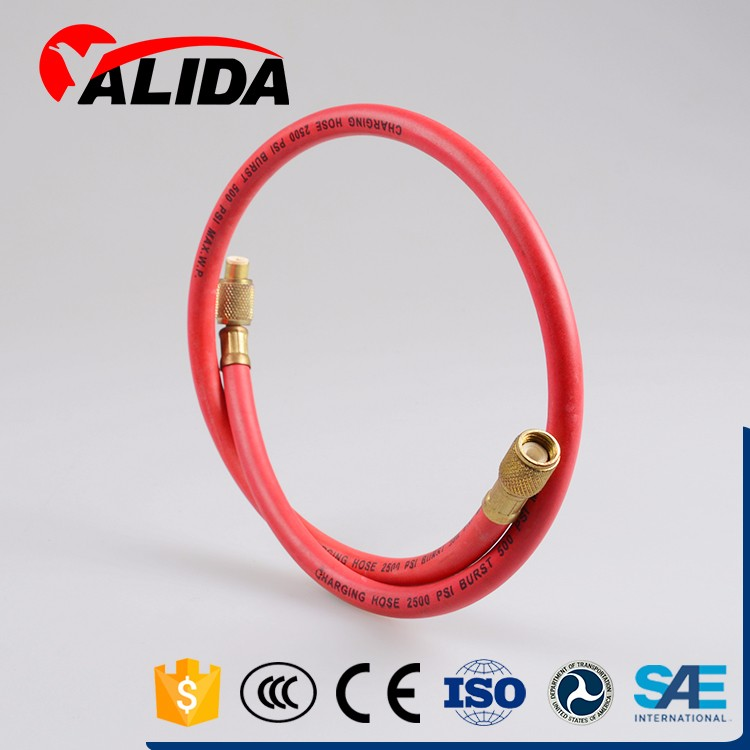 Cheap AC Parts Refrigerant Charging Hose for Air Condition R134A