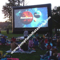 inflatable air screen,outdoor inflatable screen rental,inflatable movie screen hire