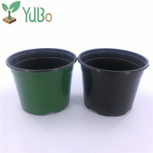 Green And Black Color Different Types Large Bulk Flower Pots Wholesale