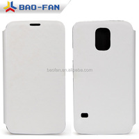 High Quality Blank Sublimation Phone Case Leather white fabric with Plastic for Samsung S5 Full Size Printing