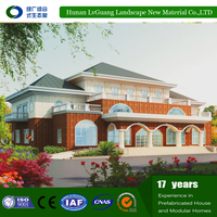 Panelized 2016 Luxury modular containers house for mining camp