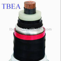 Low to high voltage XLPE electrical power cables 35kv 66kv 110kv 220KV
