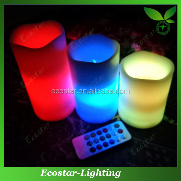 "4"" 5"" 6"" paraffin wax material battery led candle light"