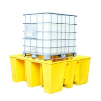 single IBC spill pallet spill containment tray