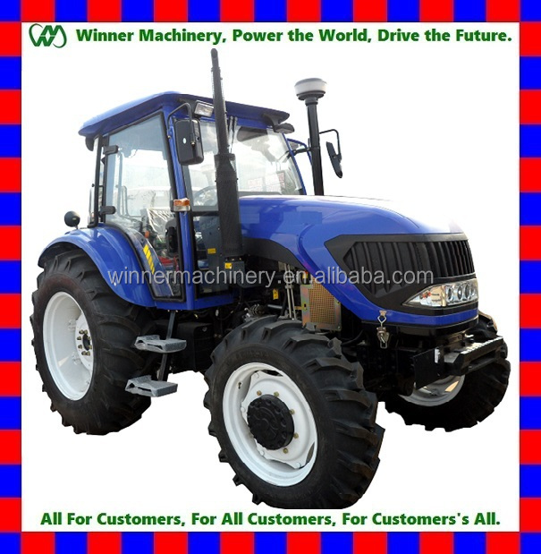 80hp farm tractor 4wd,12F+4R FIAT shift,hydraulic steering,PTO 540/1000,3points linkage,traction system,4 in 1 bucket