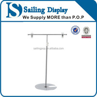 Metal Tabletop POP Display Stand With Round Base
