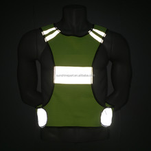 Manufactory Production High Visibility Running Vest