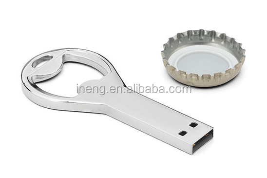 Promotional Bottle opener USB key flash drive 2GB 8GB 16GB