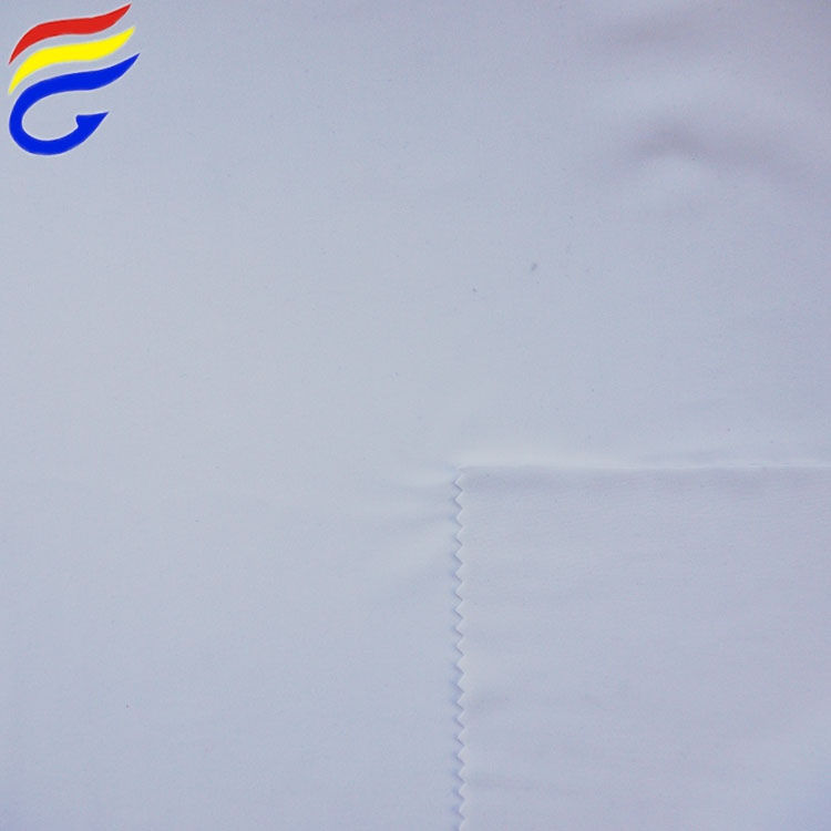 Ready to print PFP white polyester spandex knit fabric for sublimation