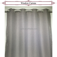 Design professional woven insulated blackout curtain