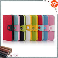 for samsung galaxy s5 jelly & pudding case with colorful dot
