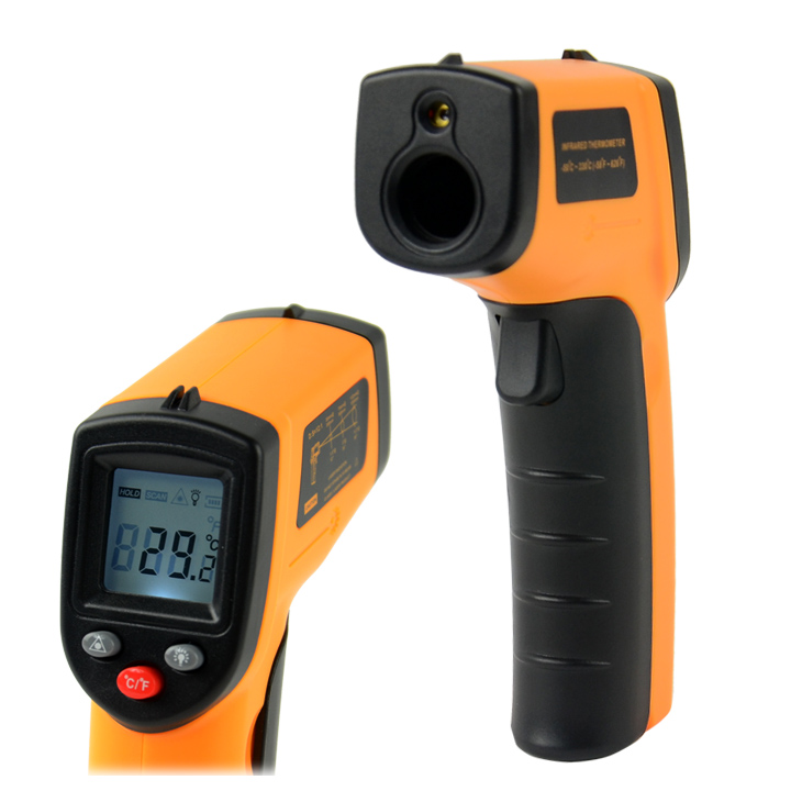 Newest!!! Non-Contact LCD IR Laser Infrared Digital Temperature Thermometer Gun Point