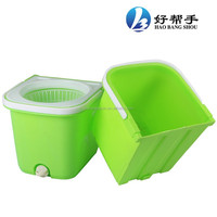 2014 new cleaning products rotating mop and bucket