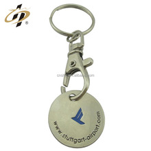 Alibaba wholesale online shopping india cart trolley coin lock metal keychain