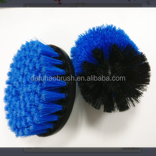 electric drill scrub brush/drill brush kit/cleaning brush for drill