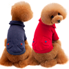 Excellent pure cotton new pet apparel plain dog clothes with pocket on back supplies