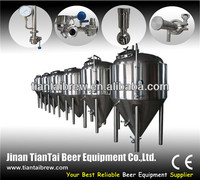 stainless steel bottle and canned and cask and keg beer fermenter machine