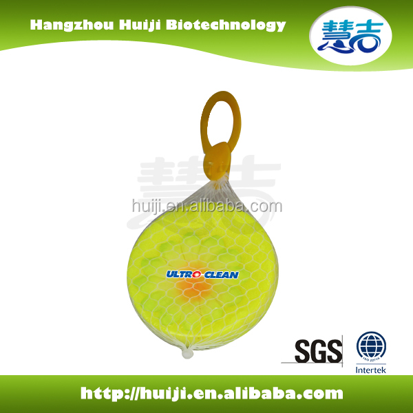NEW DESIGN moth repellant CAMPHOR BALL with mesh hanger