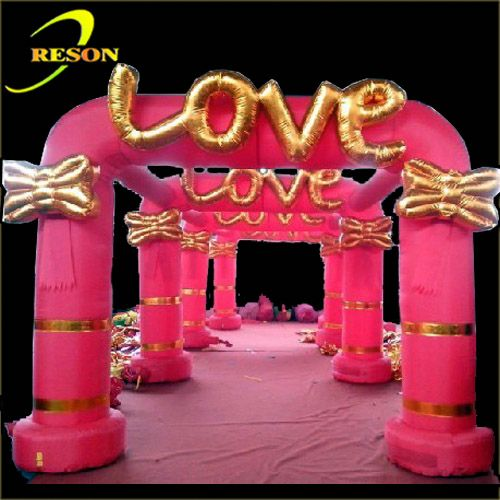 led light decorative christmas arches inflatable arch for advertising