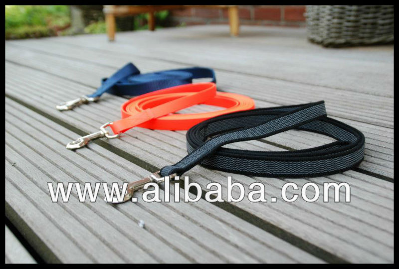 ABS rubberized dog training leash